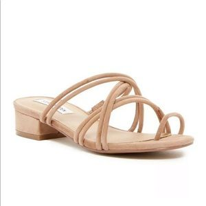 NEW 7.5 Steve Madden Tan Suede Sandals